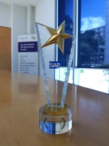 Top SAP Business One HANA Partner Singapore award (F)