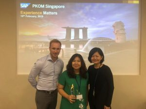 inecom directors team with the SAP HANA Partner 2018 award