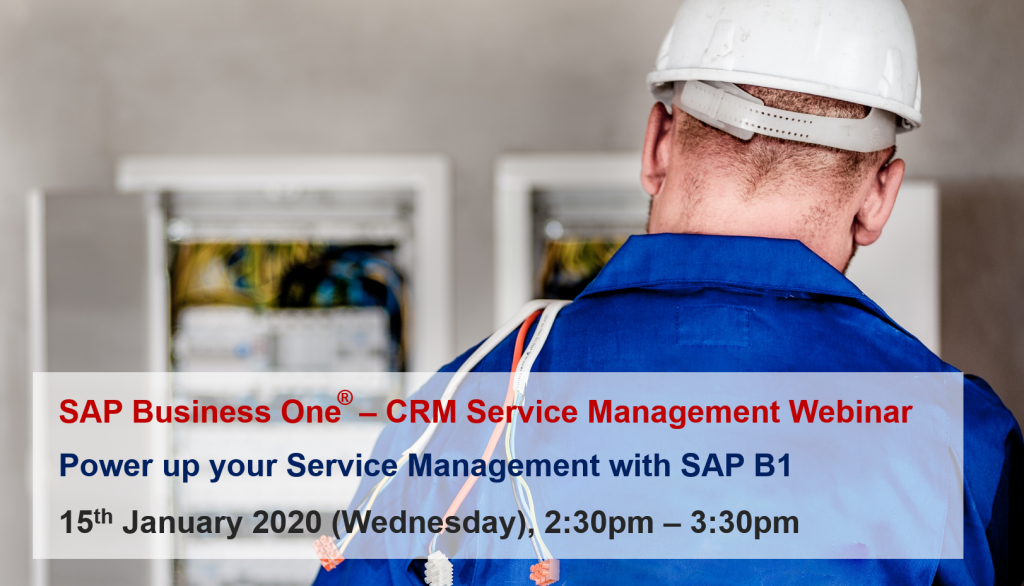crm service management webinar - 15 jan 2020