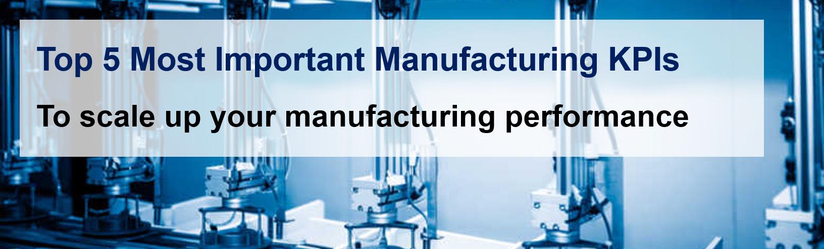 manufacturing kpis