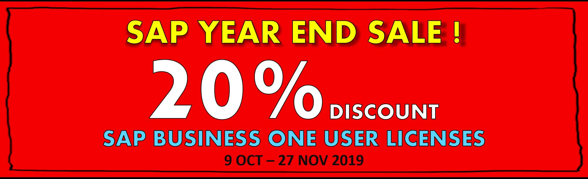 sap year end sale