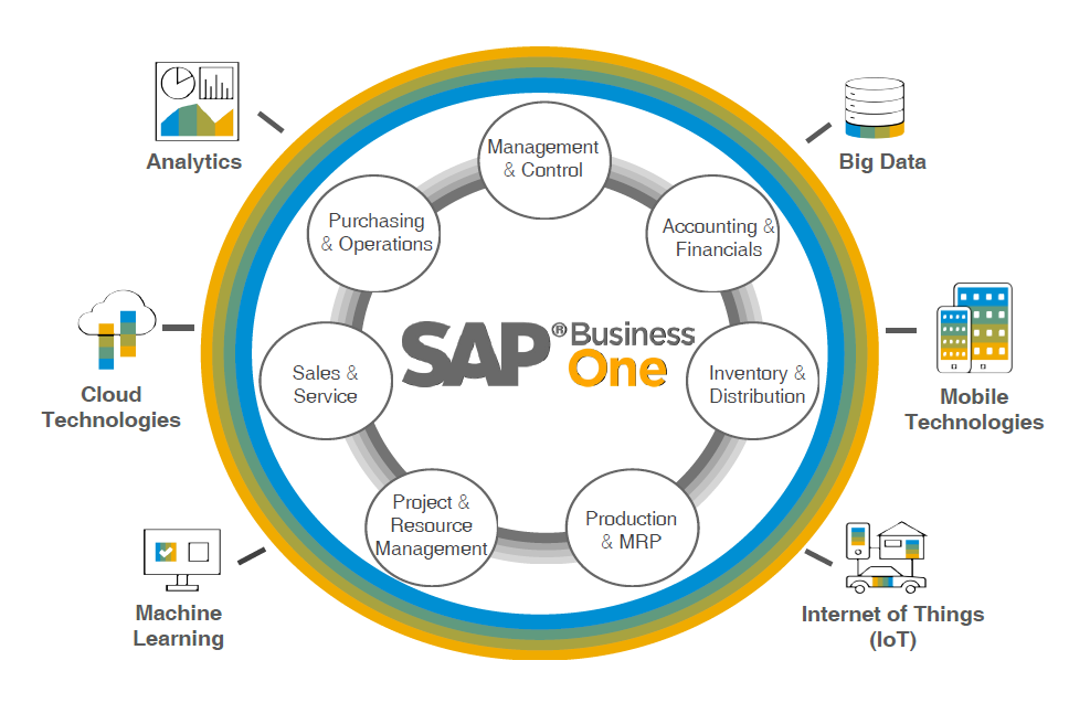 sap business one diagram 2