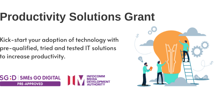 The new Productivity Solutions Grant